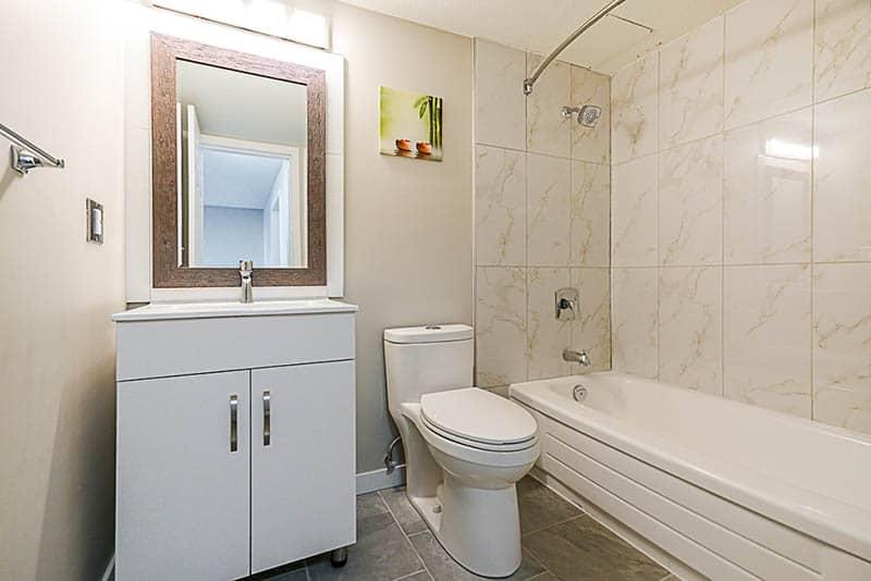 Renovated Bathroom In Chilliwack
